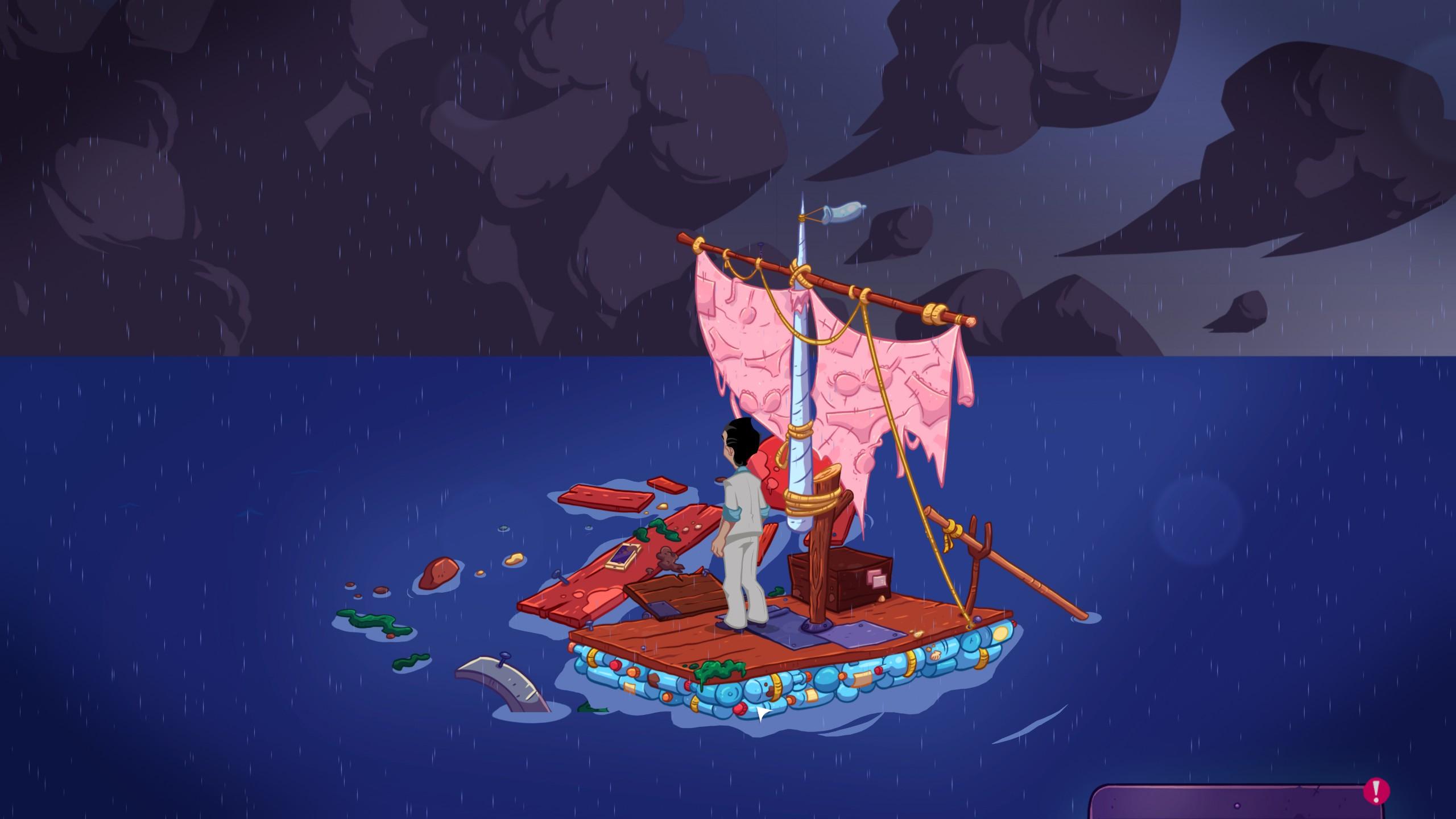 Leisure Suit Larry Wet Dreams Dry Twice - Open seas