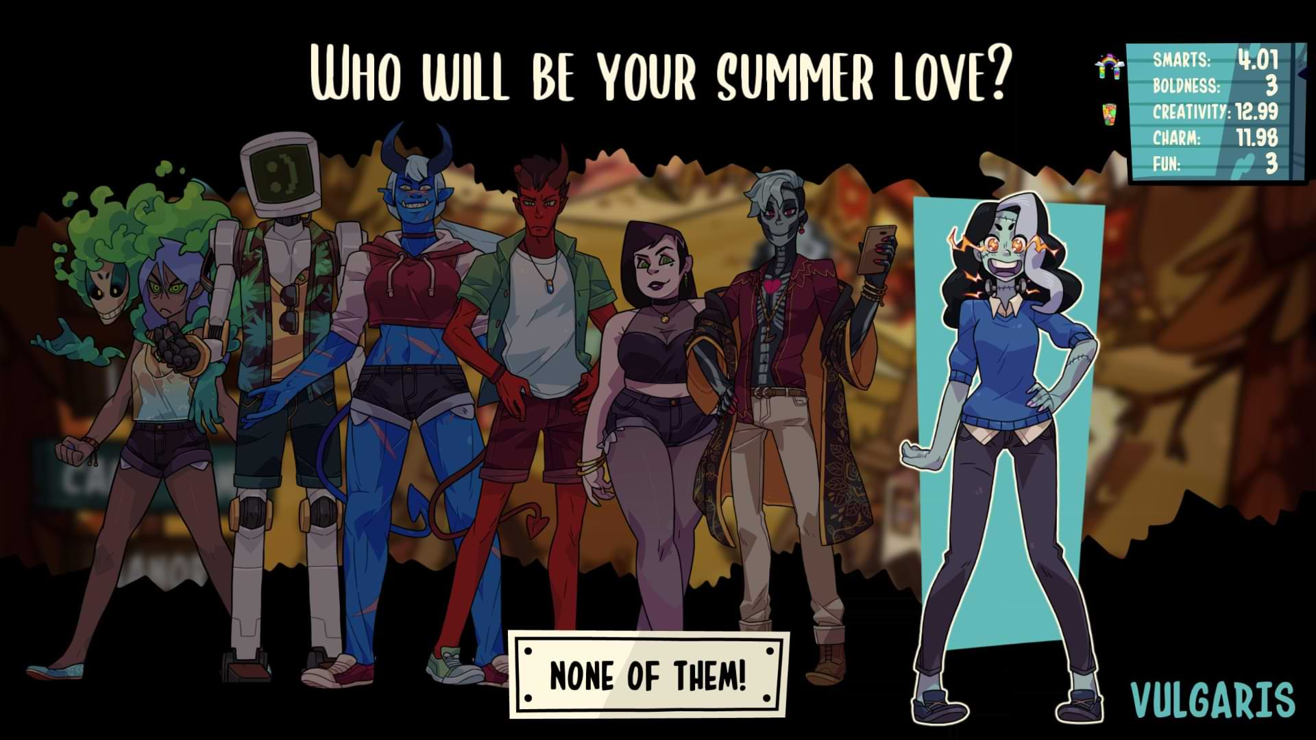 Monster Prom 2 Monster Camp - Lone Wolf
