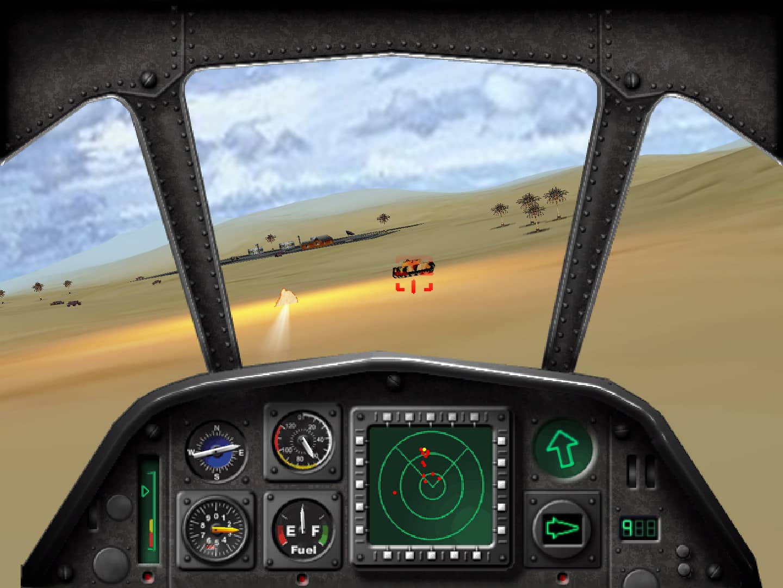 Super Huey III - Cockpit