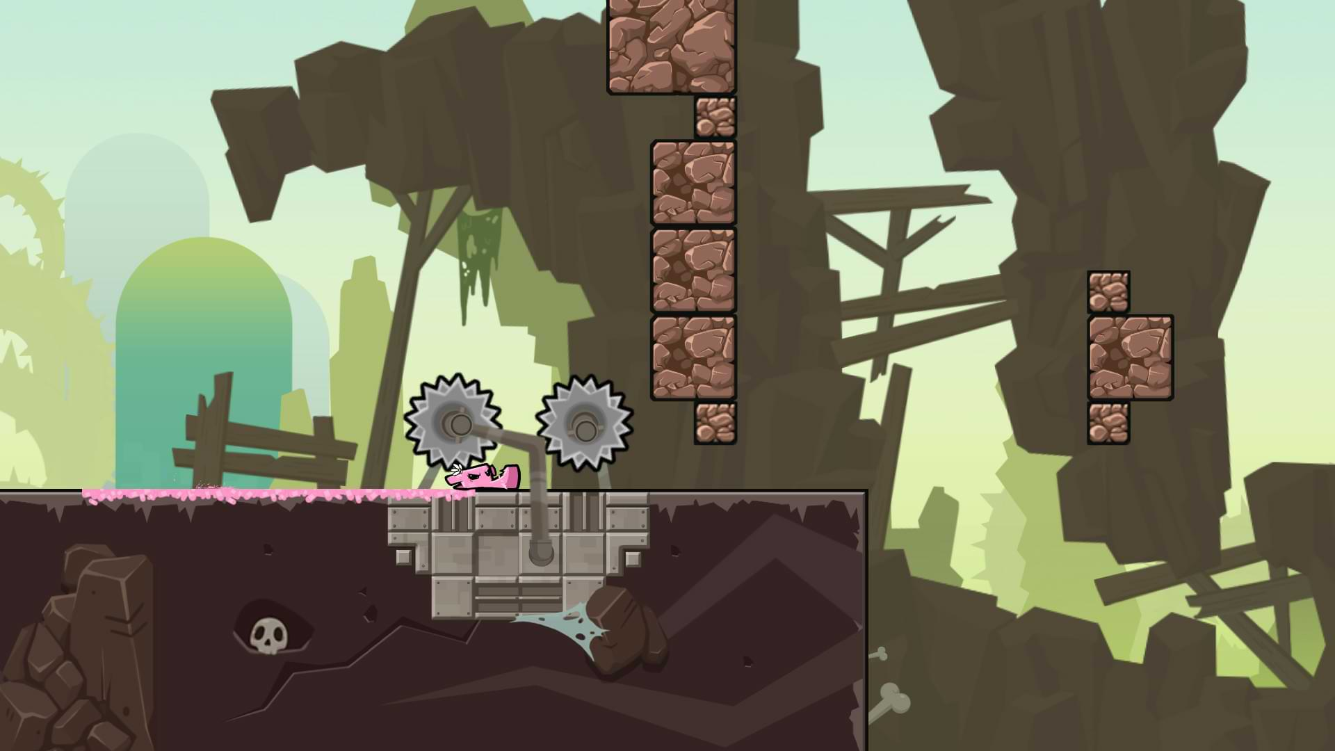 Super Meat Boy Forever - Slider