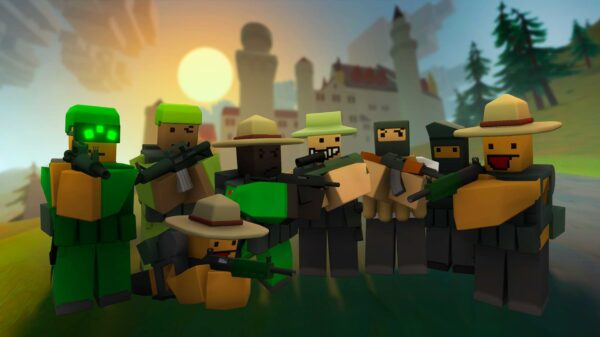 Unturned out next month