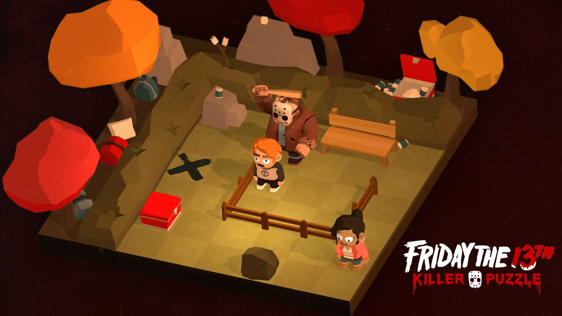 Friday the 13th Killer Puzzle - Fall