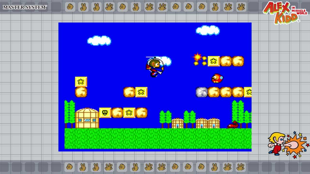 Sega Ages Alex Kidd In Miracle World