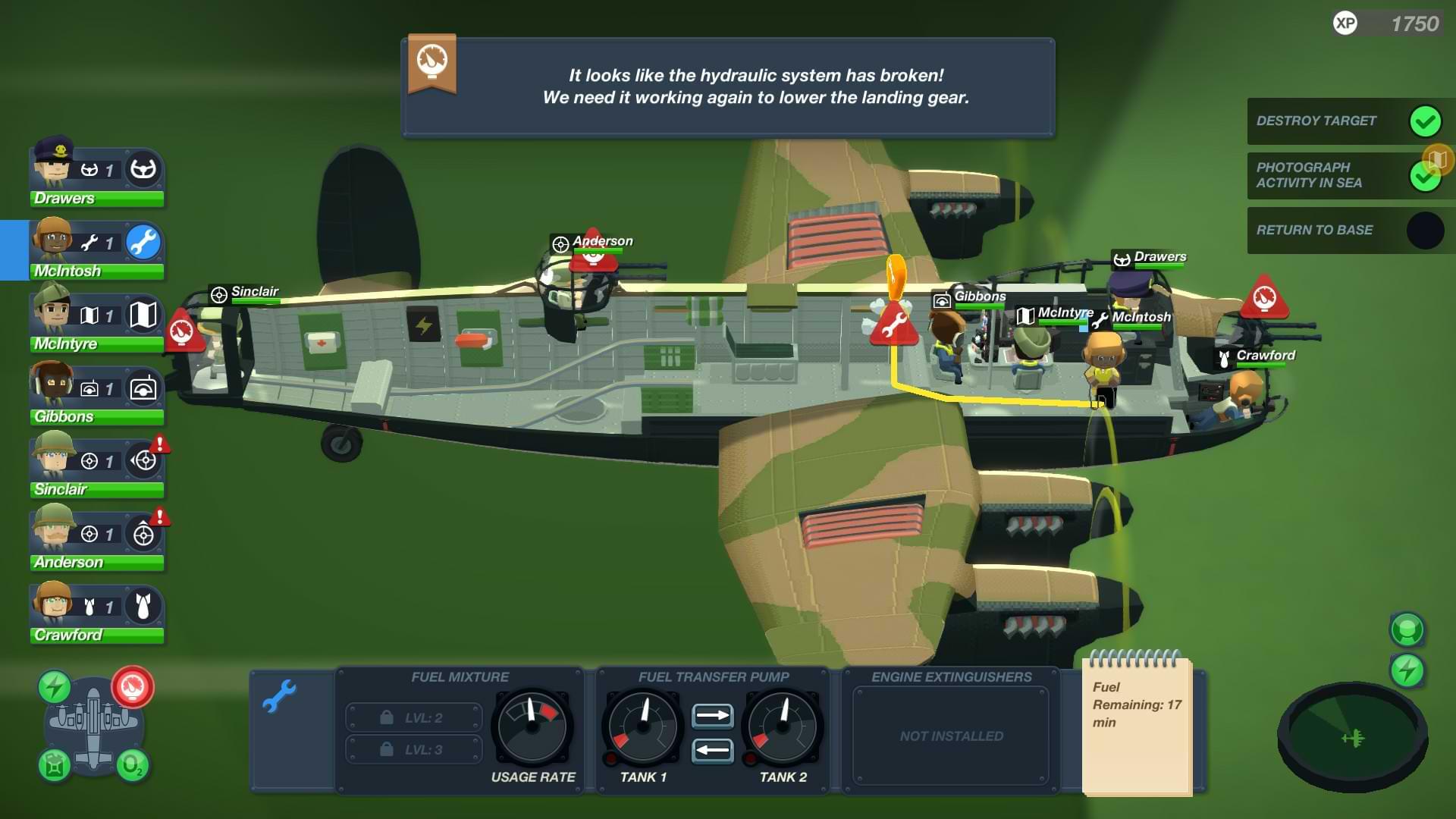 Bomber Crew - Hydraulics