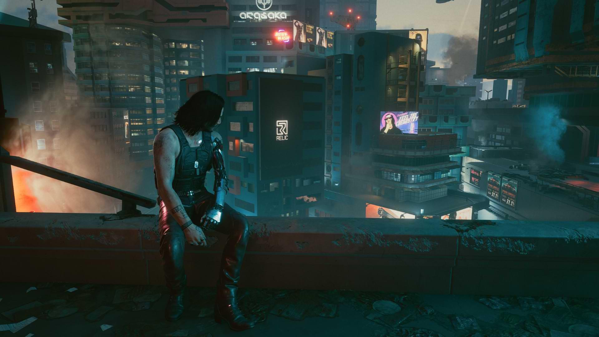 Cyberpunk 2077 - Breathtaking