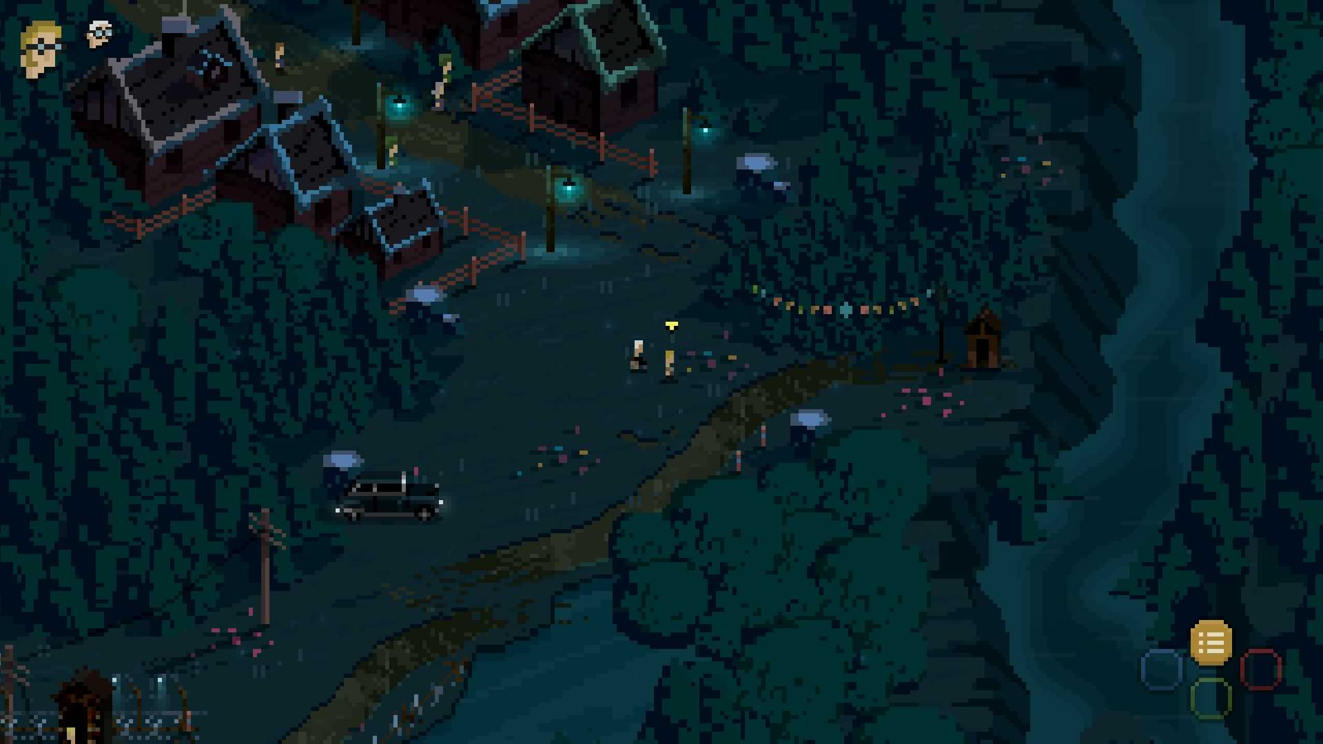 Nine Witches Family Disruption - Monkey map