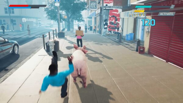 Pig Skater Simulator on Steam
