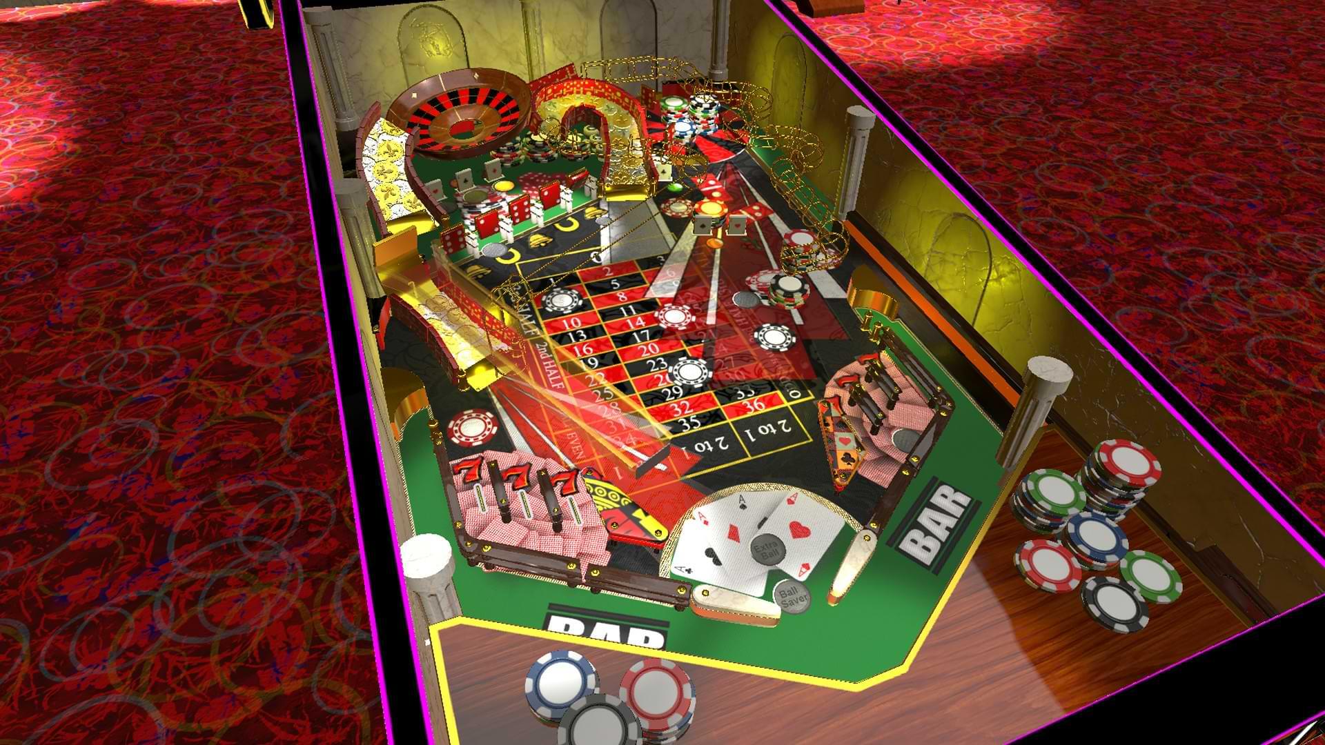 Pinball Lockdown - Roulette