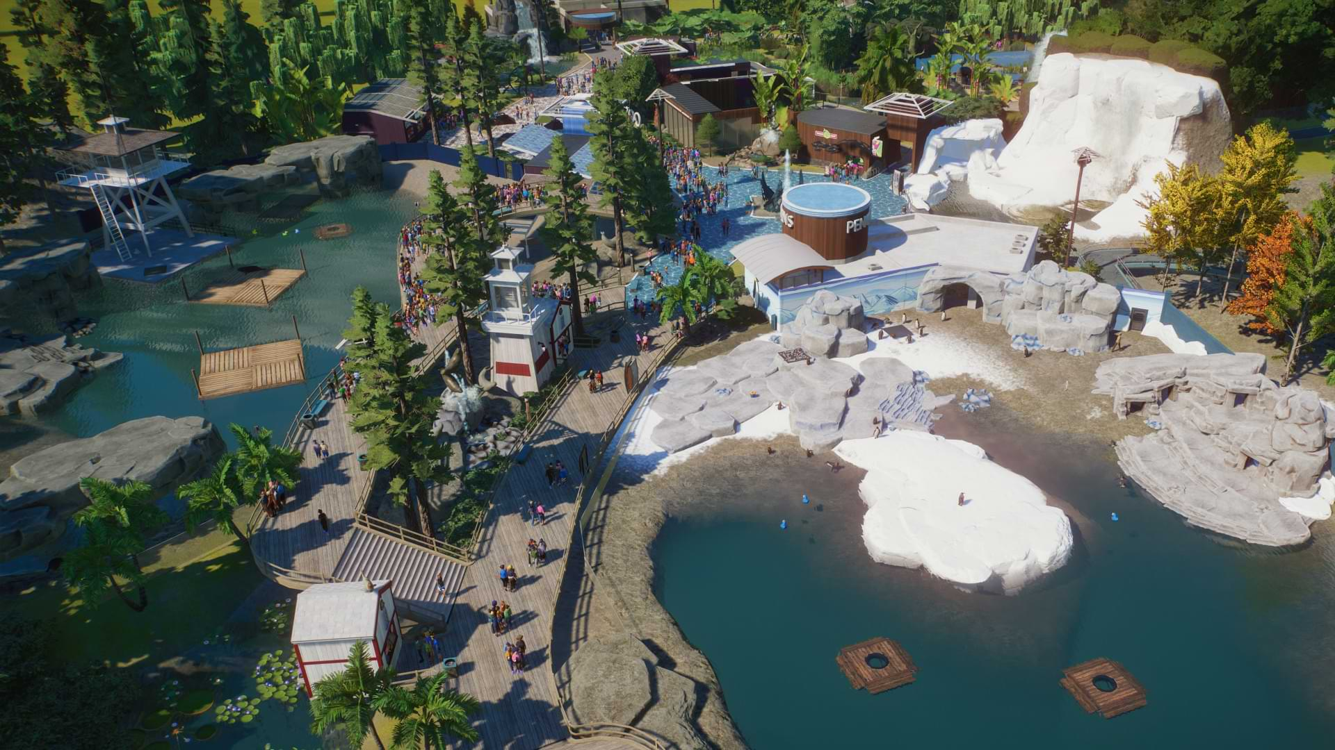 Planet Zoo Aquatic Pack out next week
