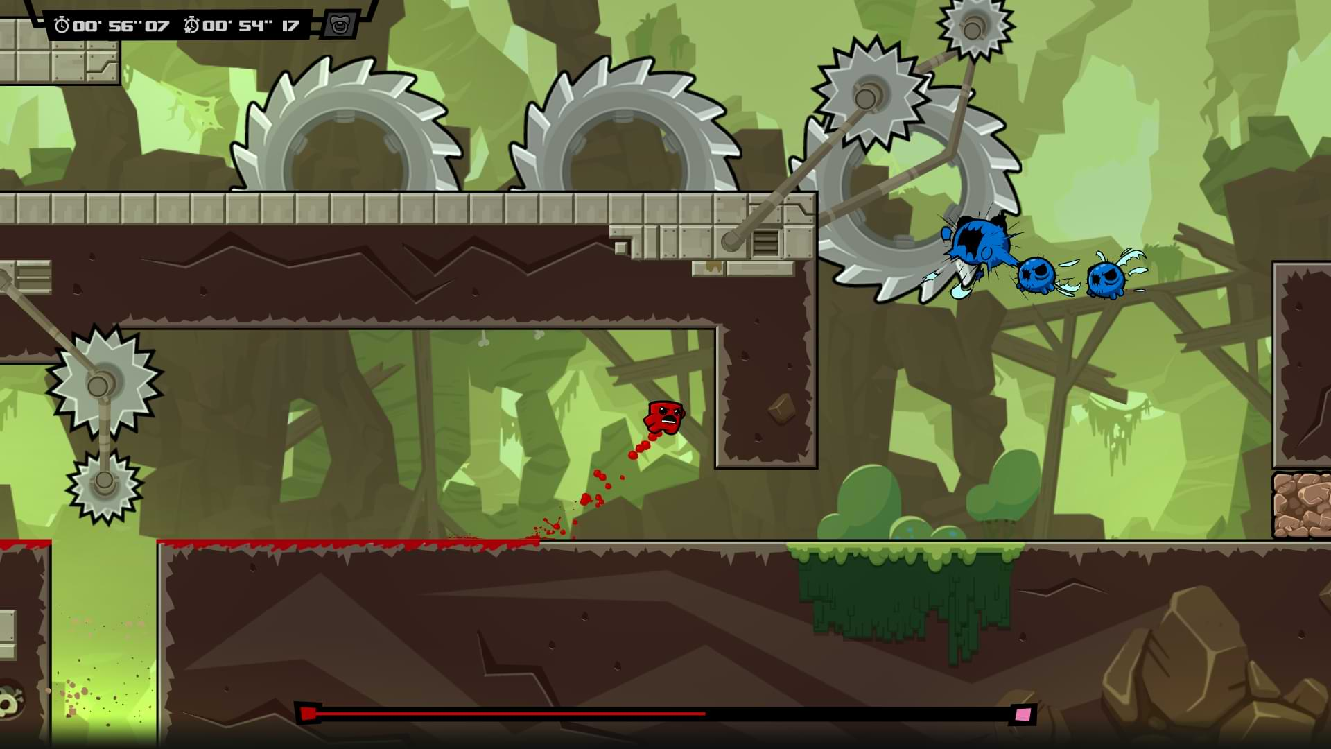 Super Meat Boy Forever - Happy trails