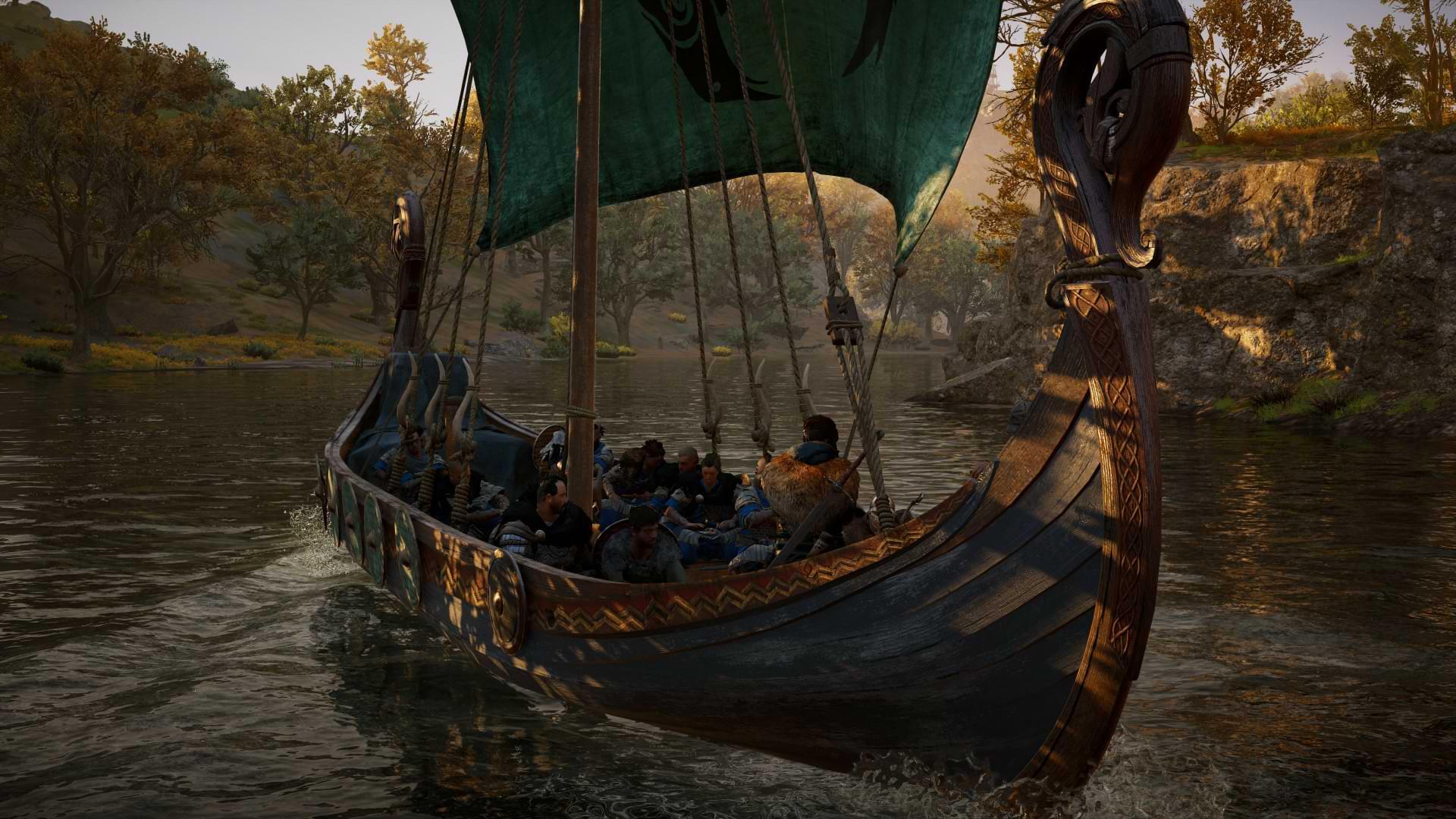 Assassin's Creed Valhalla - Rafting