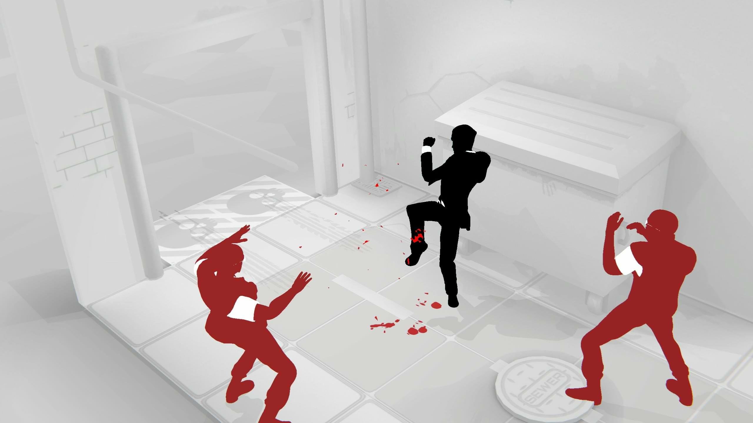 Fights In Tight Places Prologue - Red on you