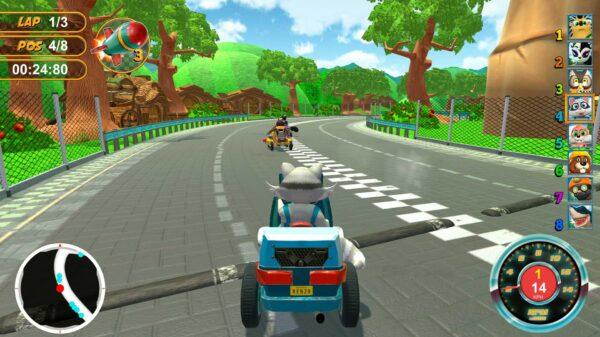 Renzo Racer out now on PS5