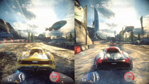 Rise Race The Future two player mode
