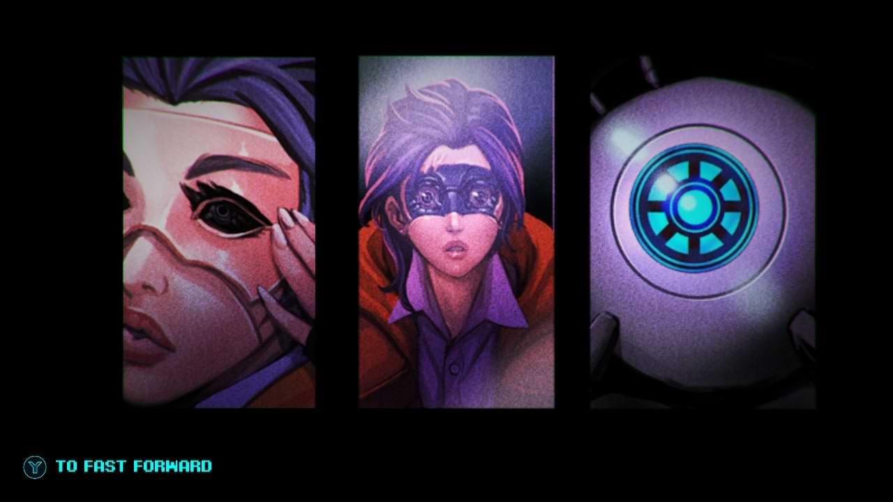 Sense A Cyberpunk Ghost Story - Eye eye