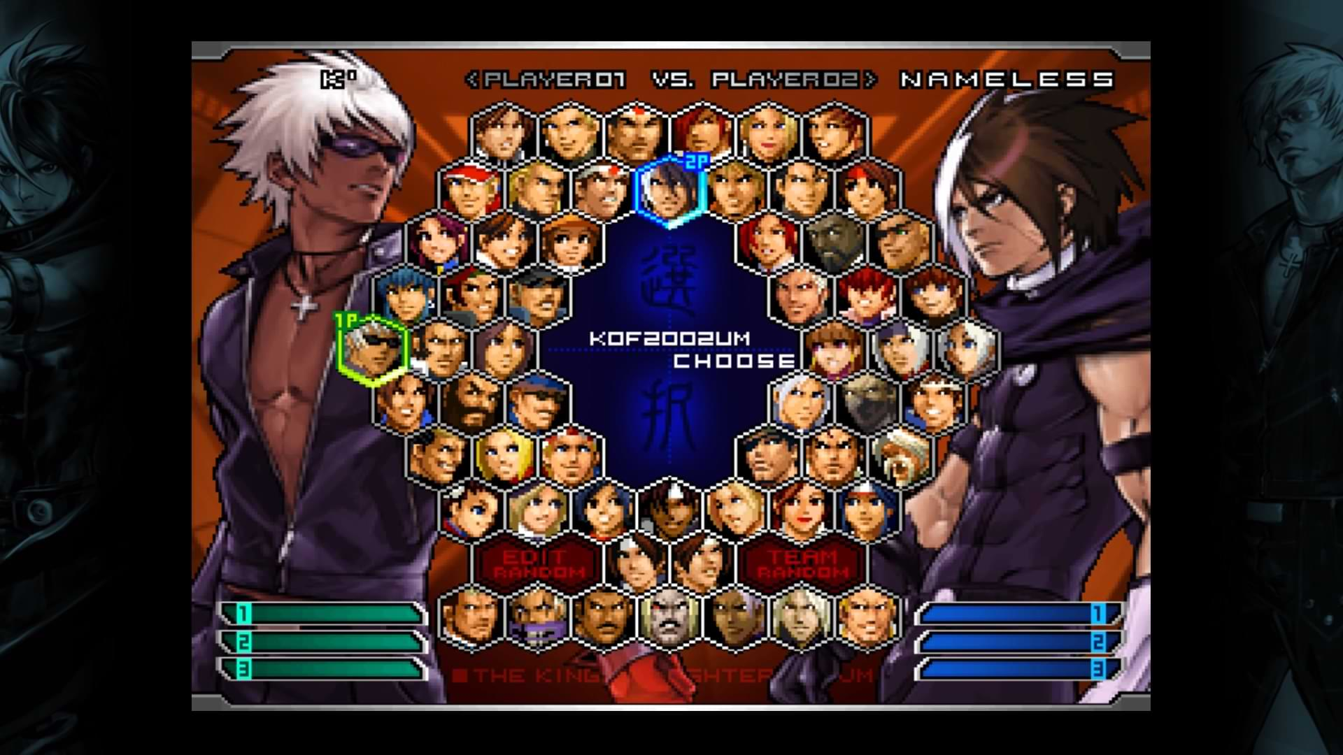 King of Fighters 2002 Unlimited Match - Meet the gang