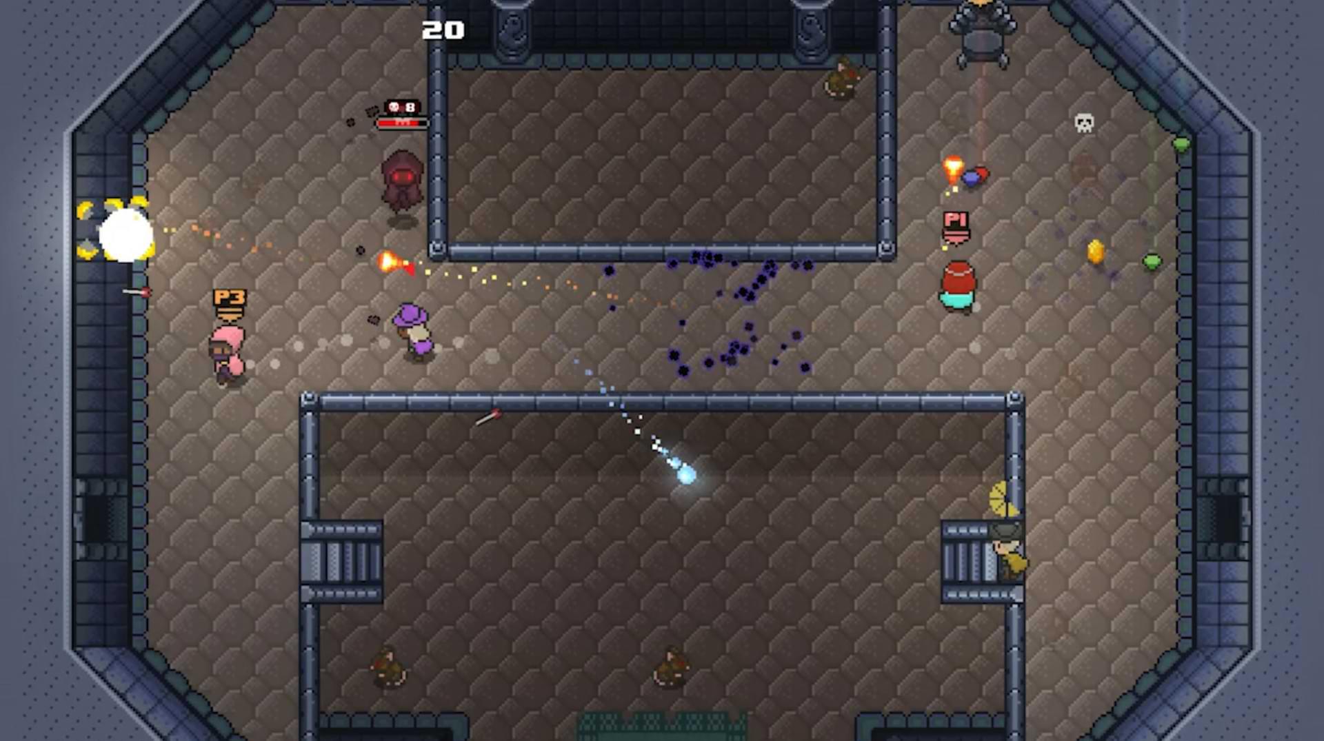 Rogue Heroes Ruins of Tasos - Dirty rats