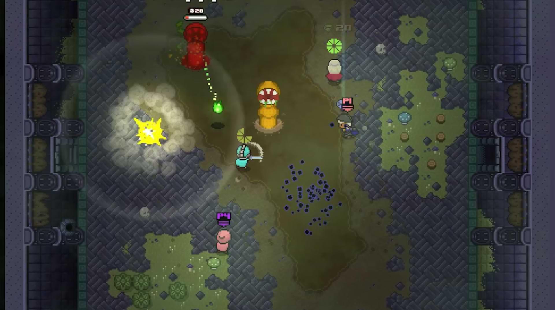 Rogue Heroes Ruins of Tasos - Worms