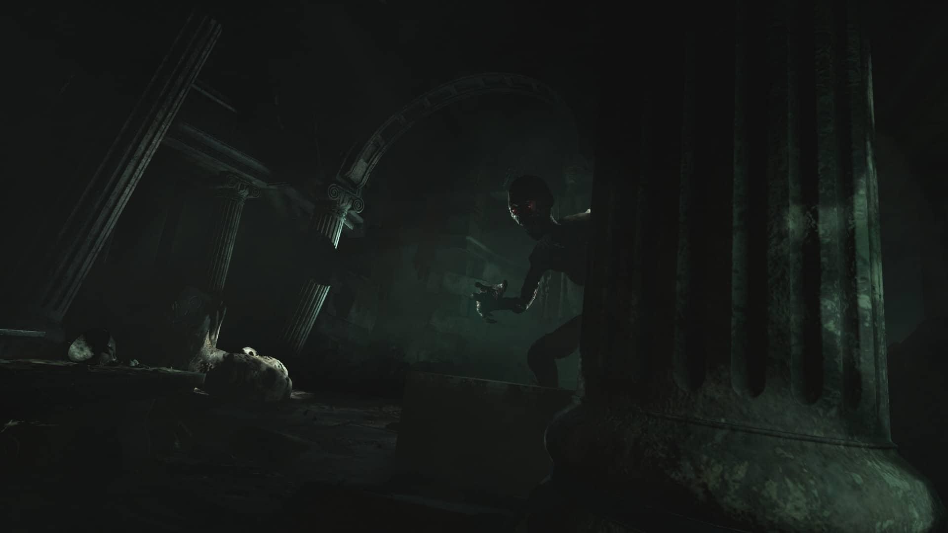 Amnesia Rebirth Adventure Mode - Blind date