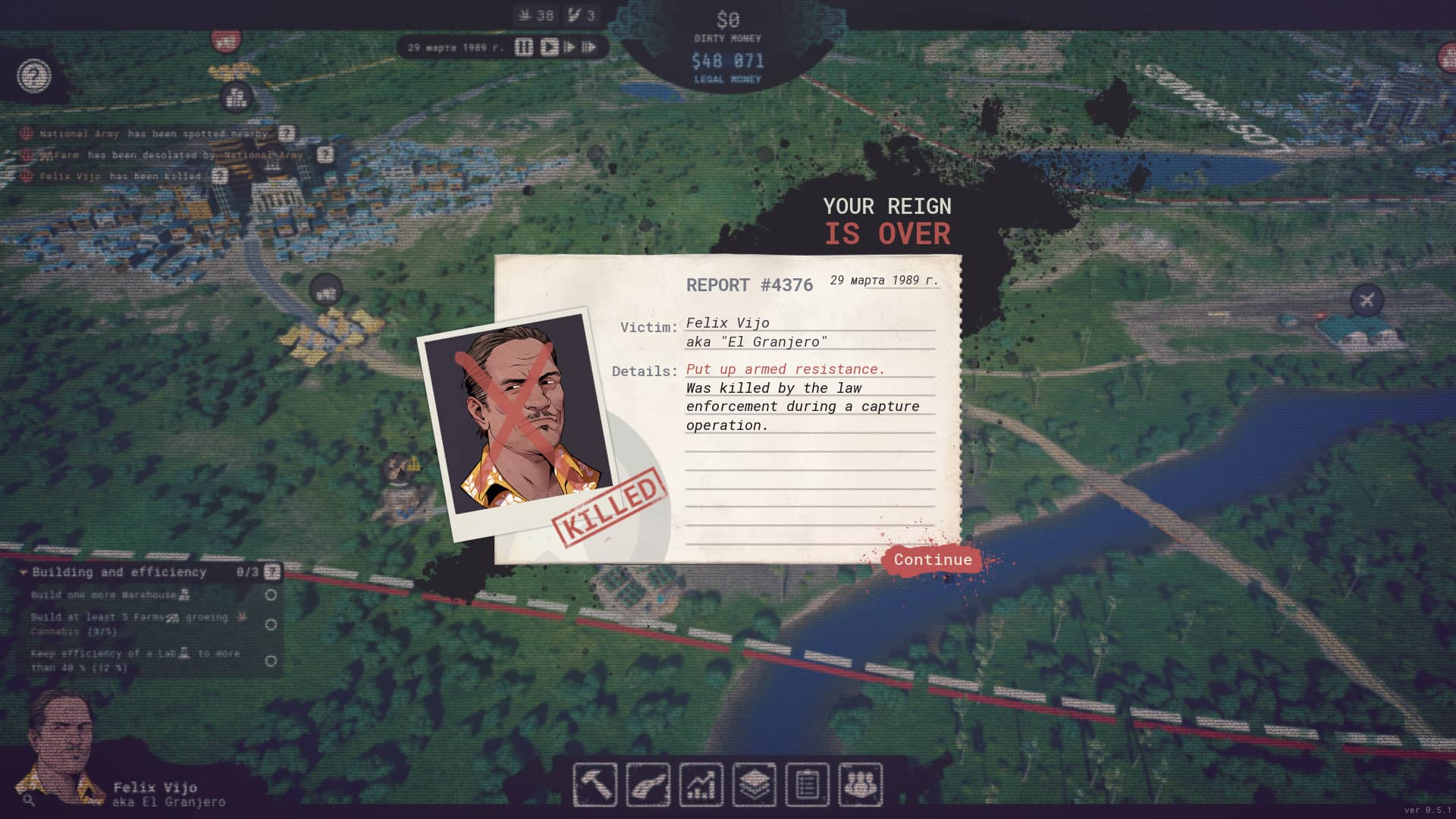 Cartel Tycoon Early Access - It's over