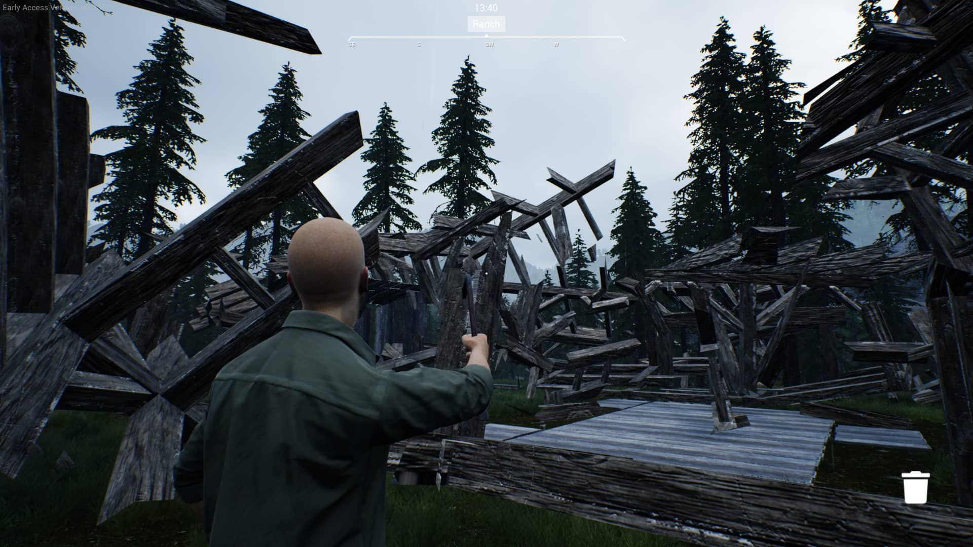 Ranch Simulator Early Access - Hammer Time
