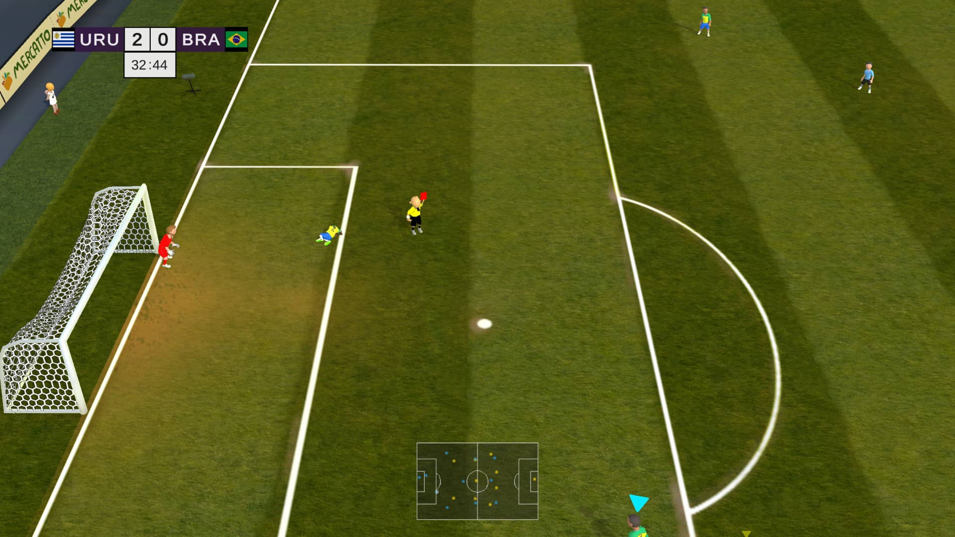 Super Arcade Soccer 2021 Review - Foul play