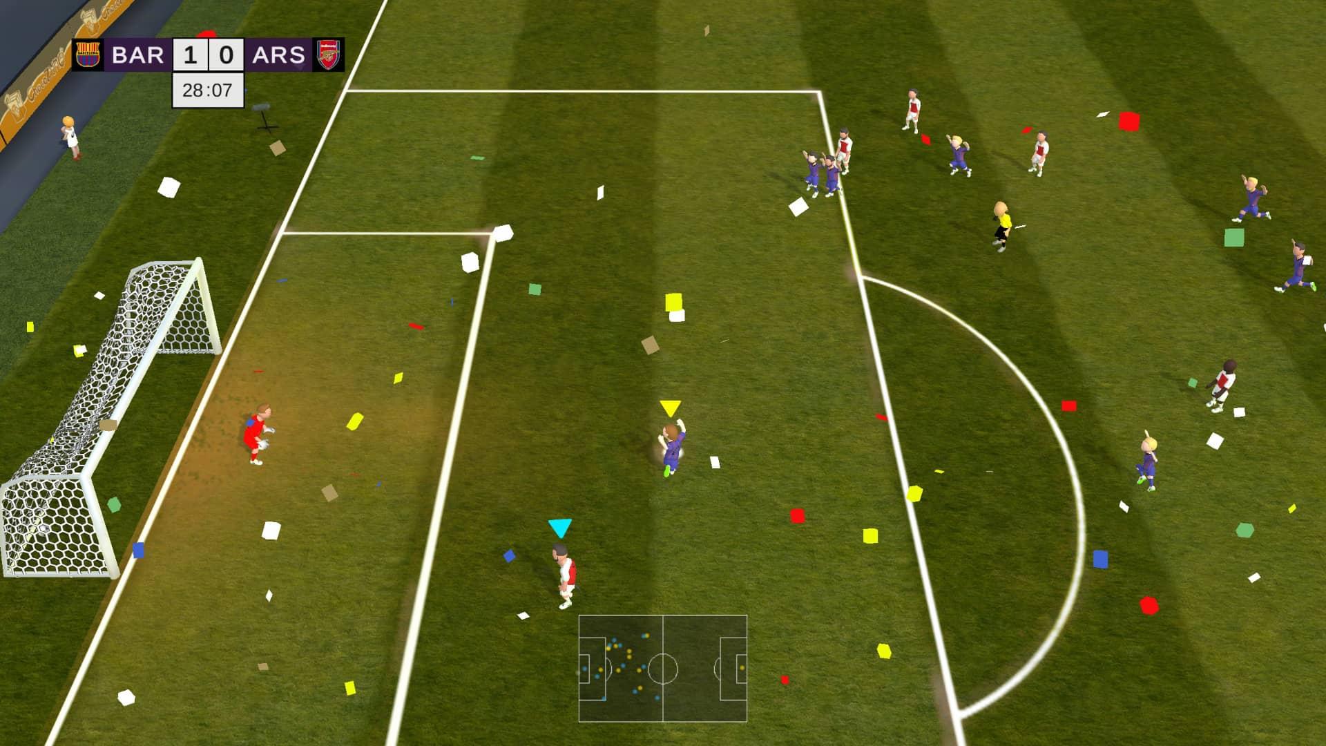 Super Arcade Soccer 2021 Review - Goal