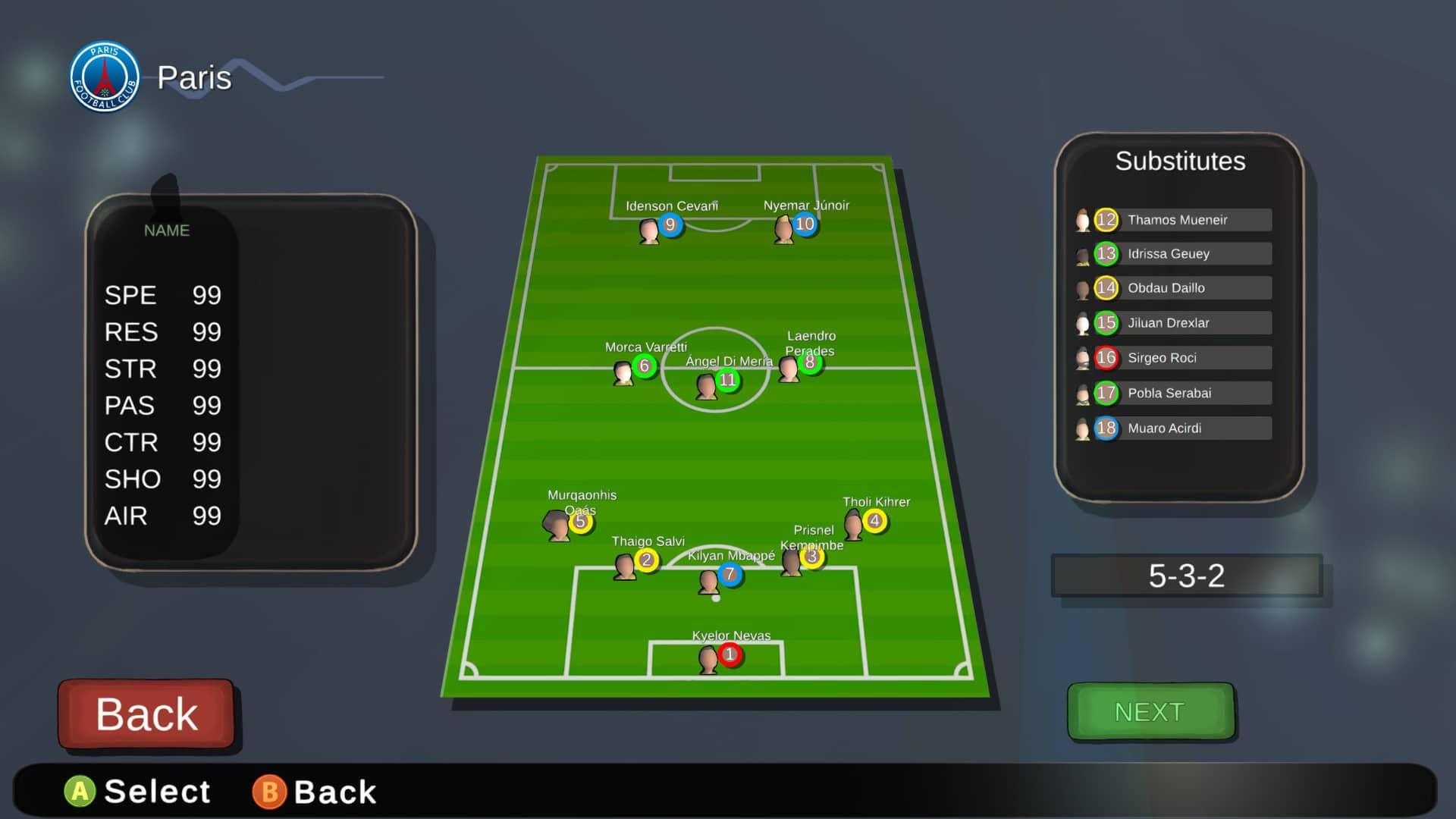 Super Arcade Soccer 2021 Review - Line up