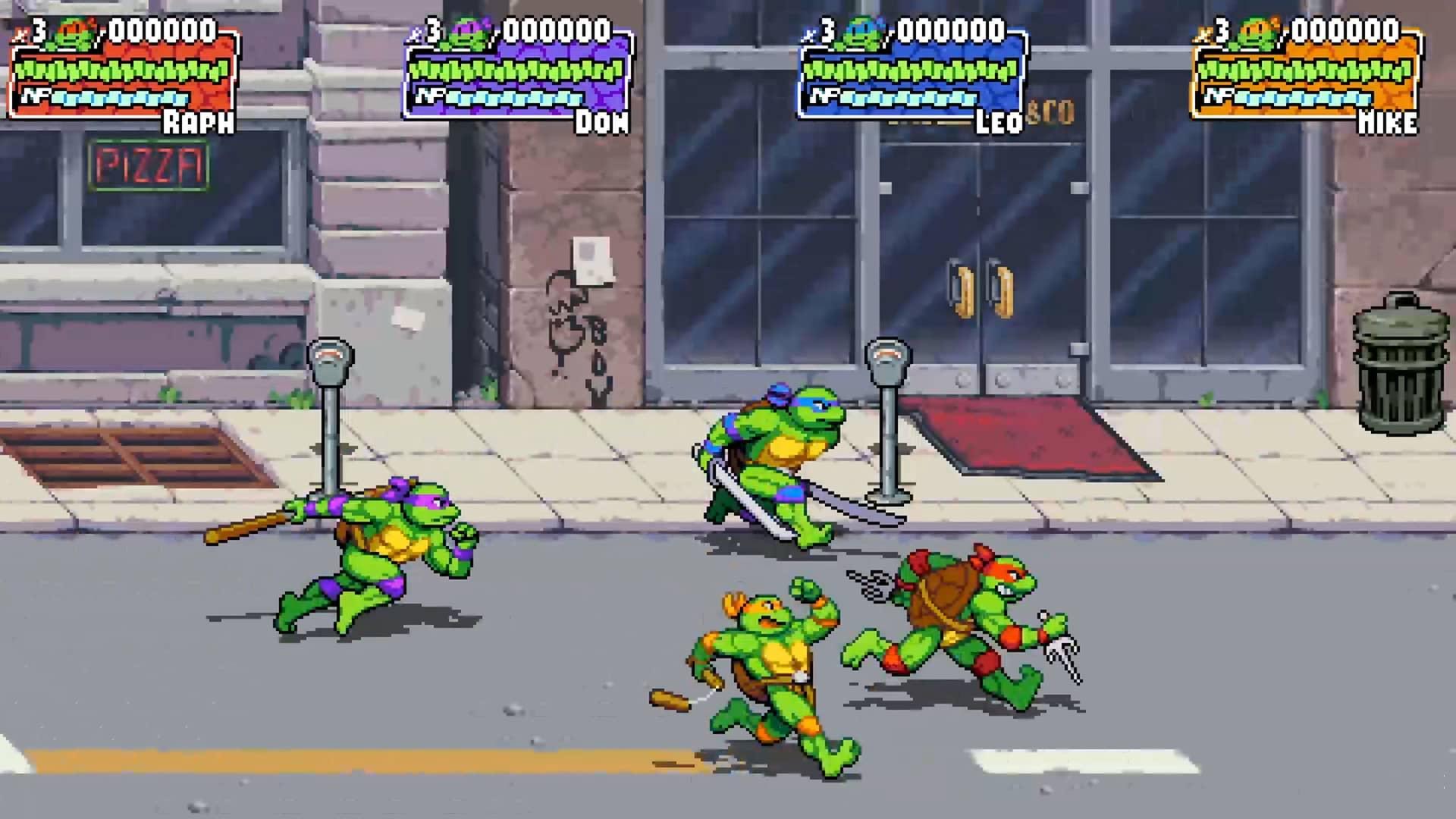 Teenage Mutant Ninja Turtles Shredder's Revenge - Foursome