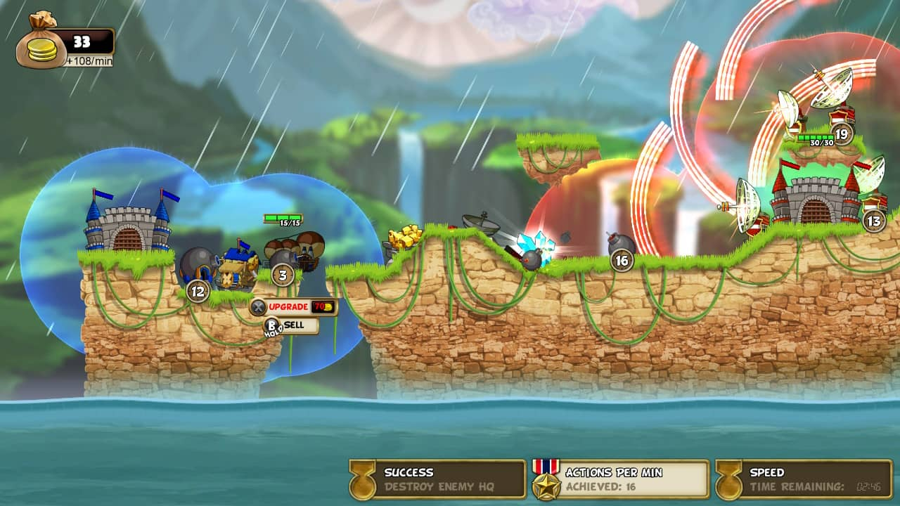 Cannon Brawl Switch Review - Bombs away