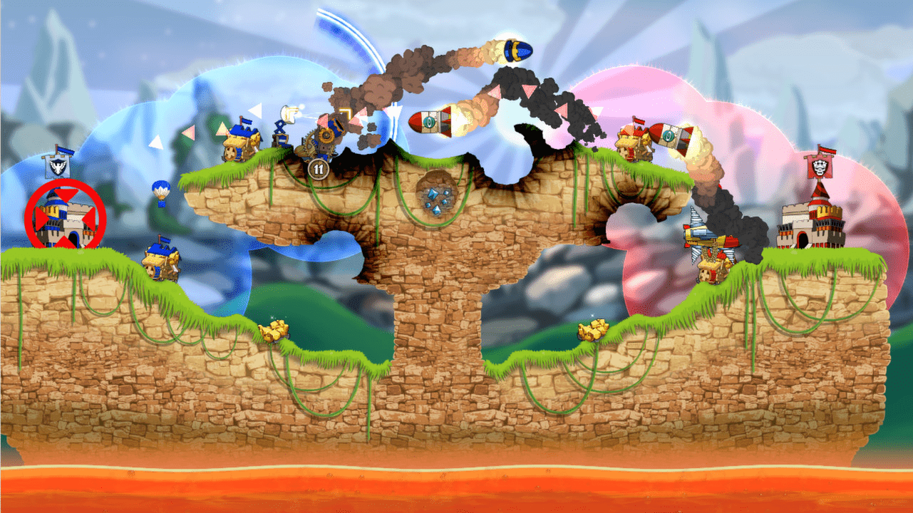 Cannon Brawl on the Switch