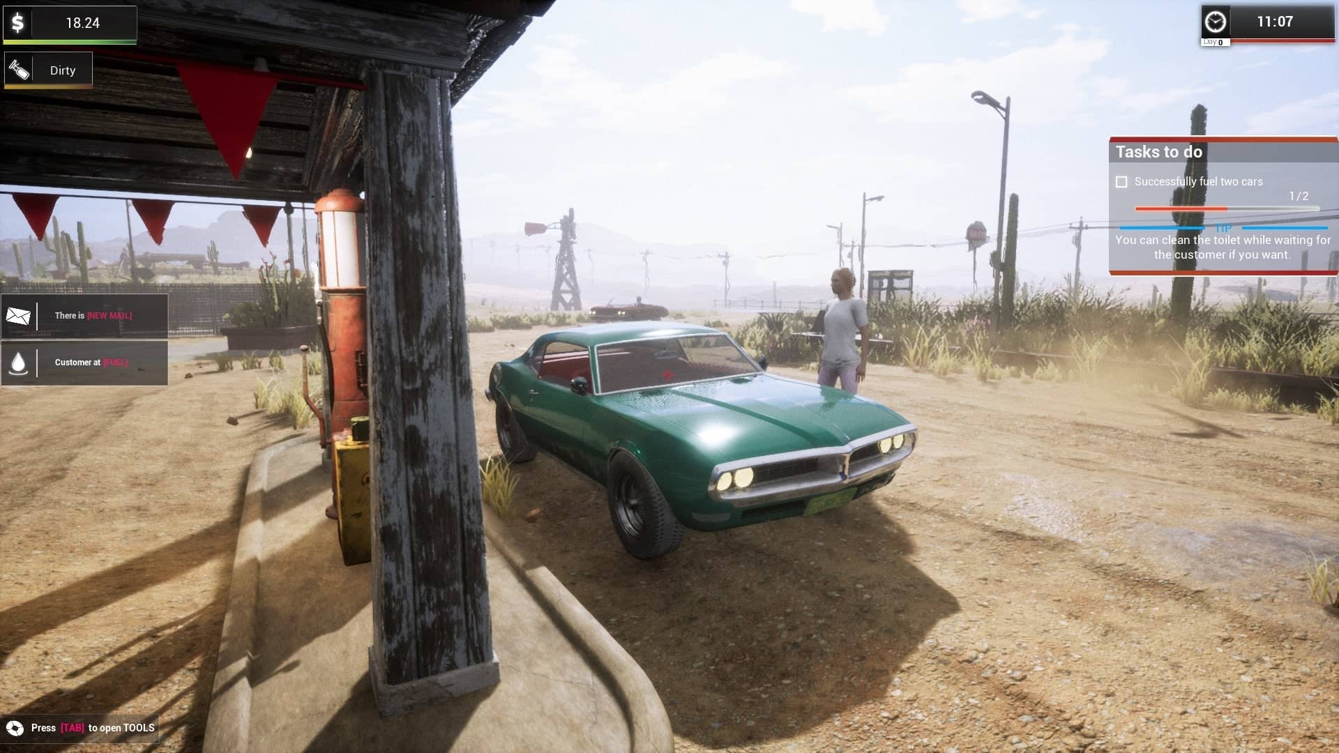 Gas Station Simulator Early Days - Classic