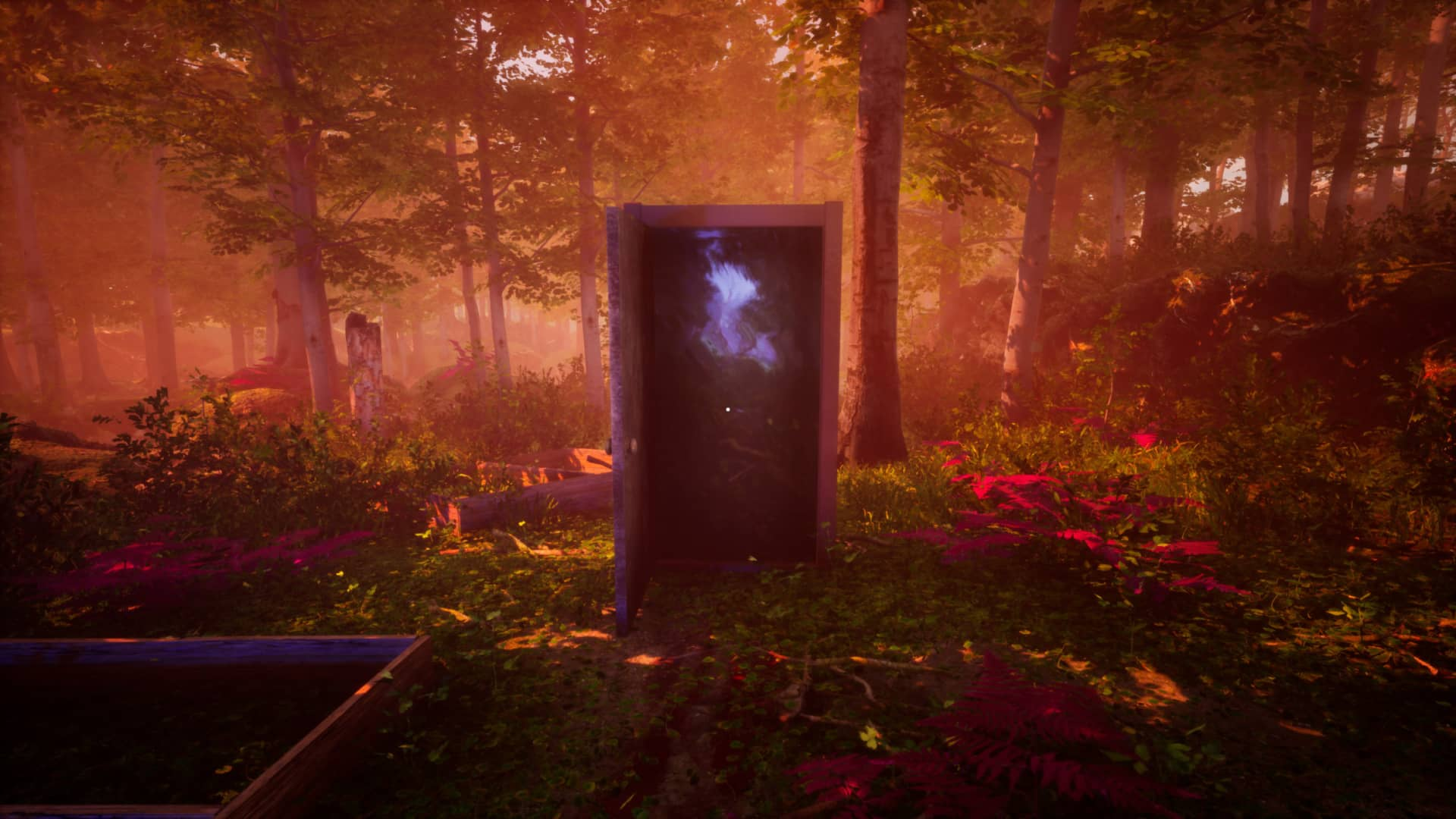 The Fabled Woods Review - Doorway