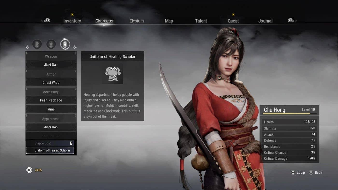 Xuan Yuan Sword 7 - Building character