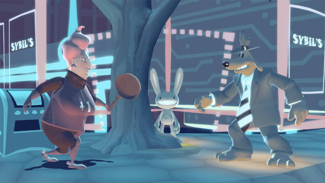 Sam and Max Save The World Remastered Review - Cricket