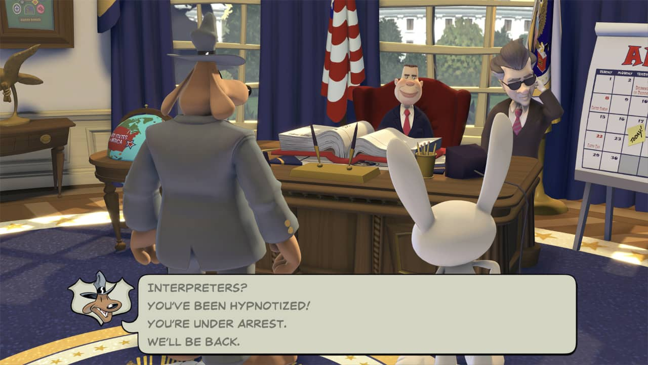 Sam and Max Save The World Remastered Review - Puppet