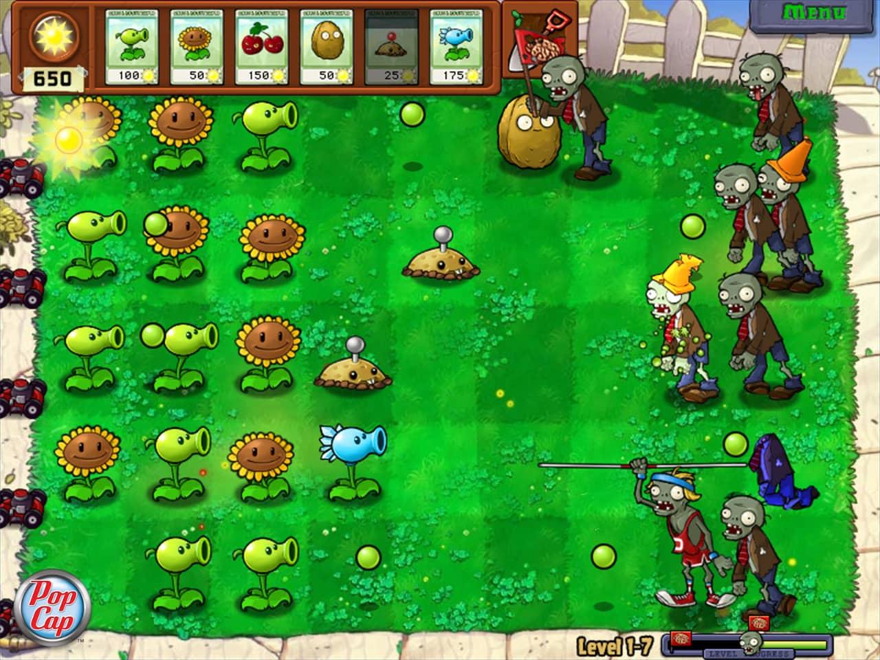 Plants Vs Zombies GOTY Edition