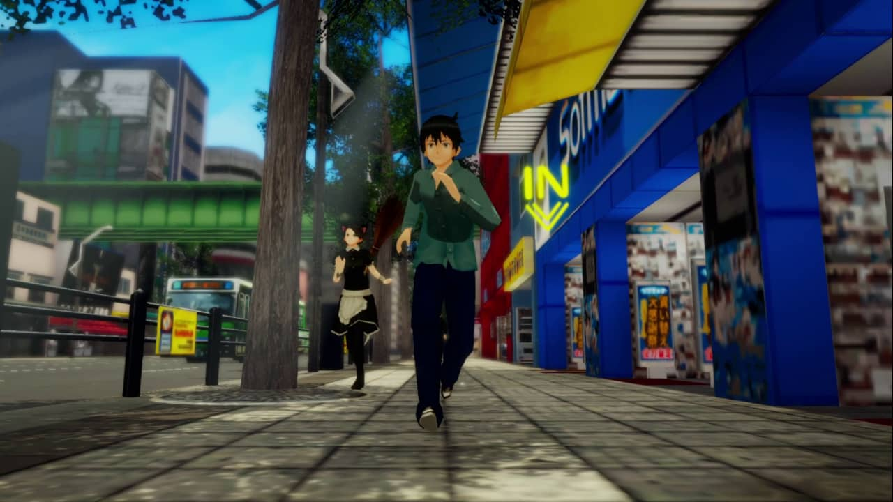 Akiba's Trip Hellbound and Debriefed Review - Maid in pursuit