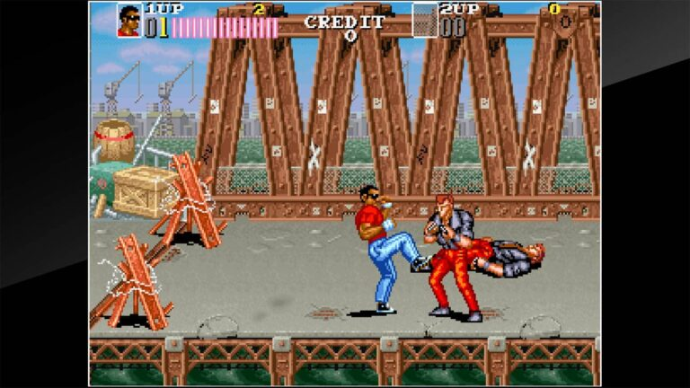Arcade Archives Vendetta Out Now On PS4 and Switch