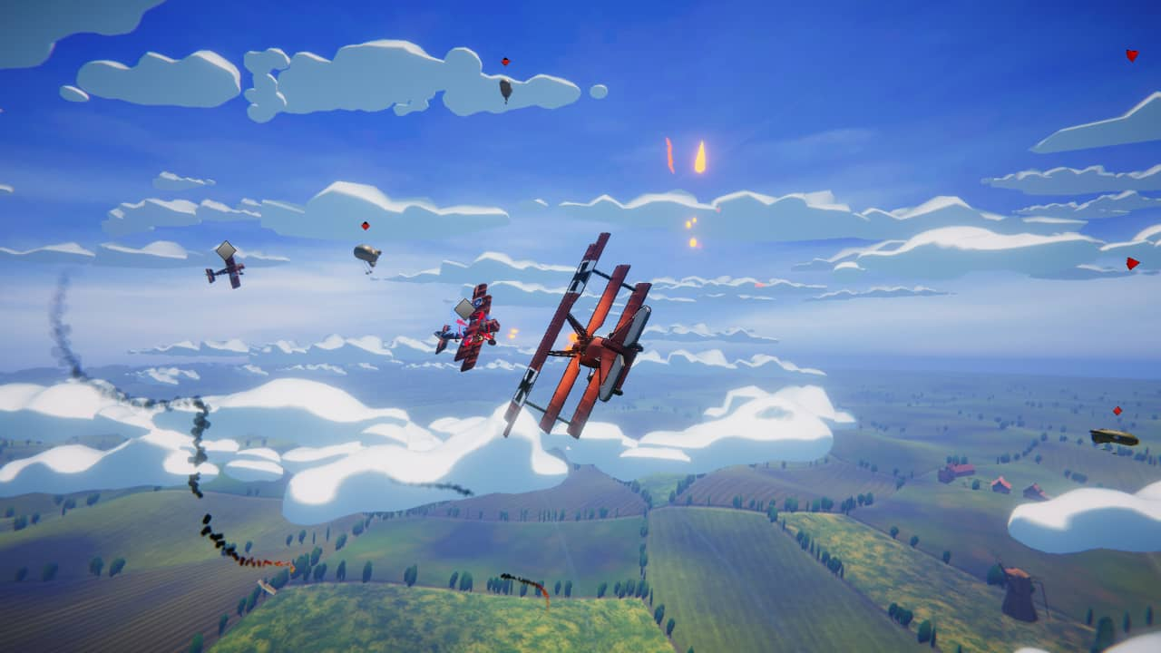 Red Wings Aces Of The Sky Baron Edition out now