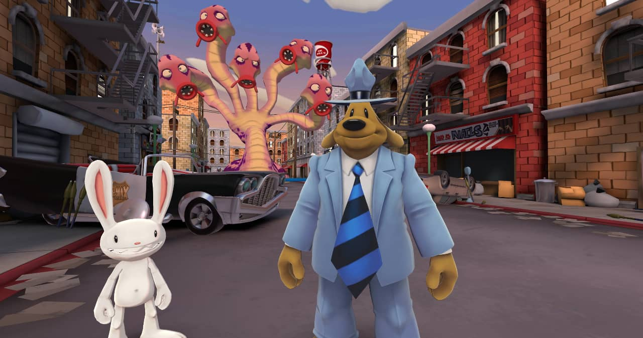 Sam And Max This Time It's Virtual! out now on Quest