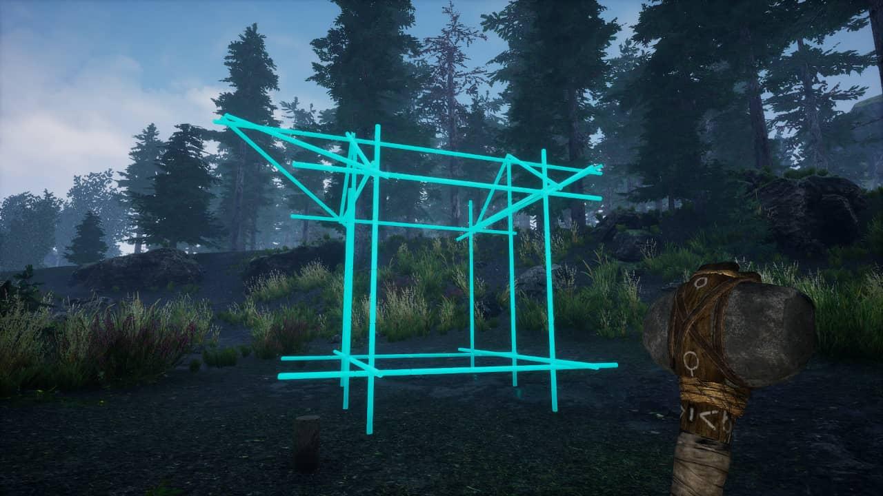 Tribe Primitive Builder in development
