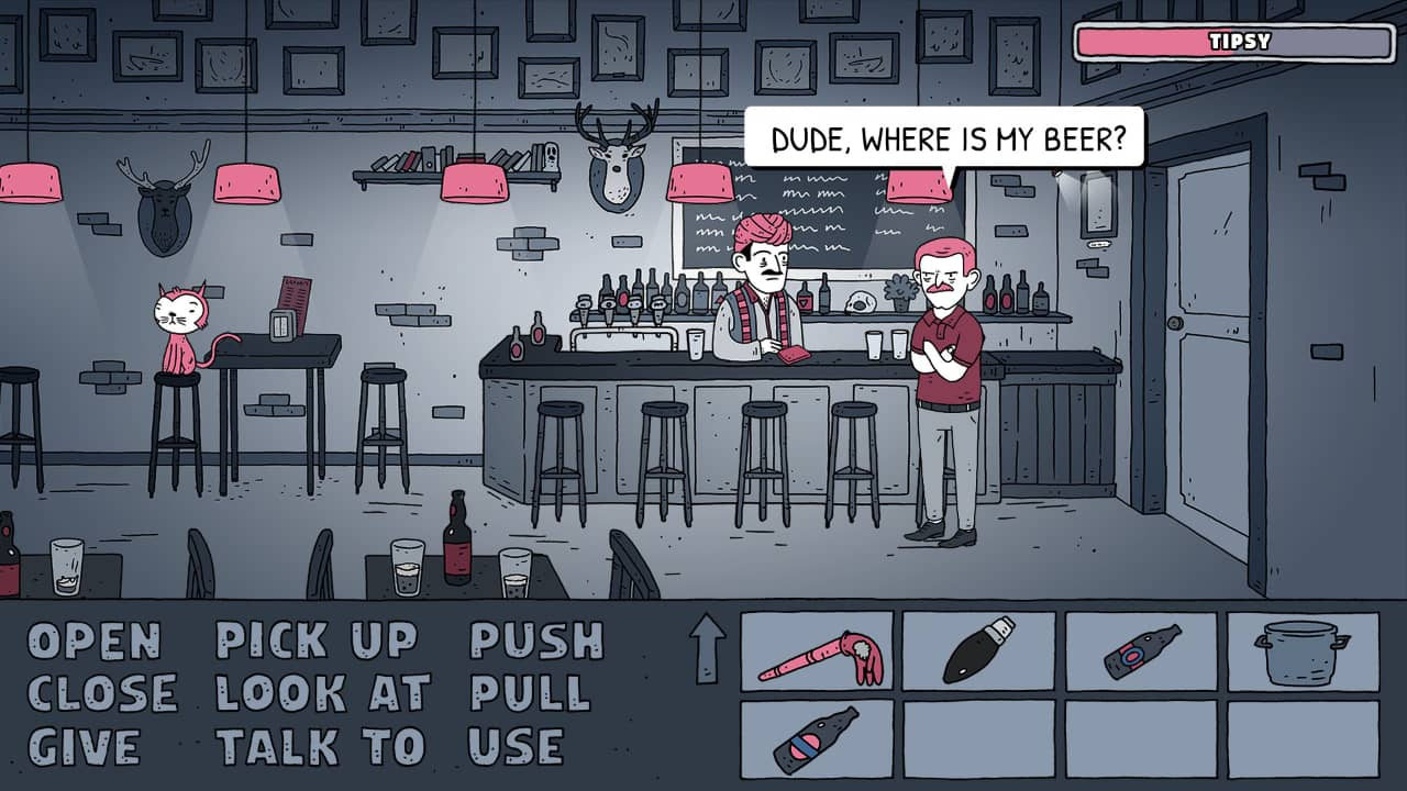 Dude, Where's My Beer? Walkthrough