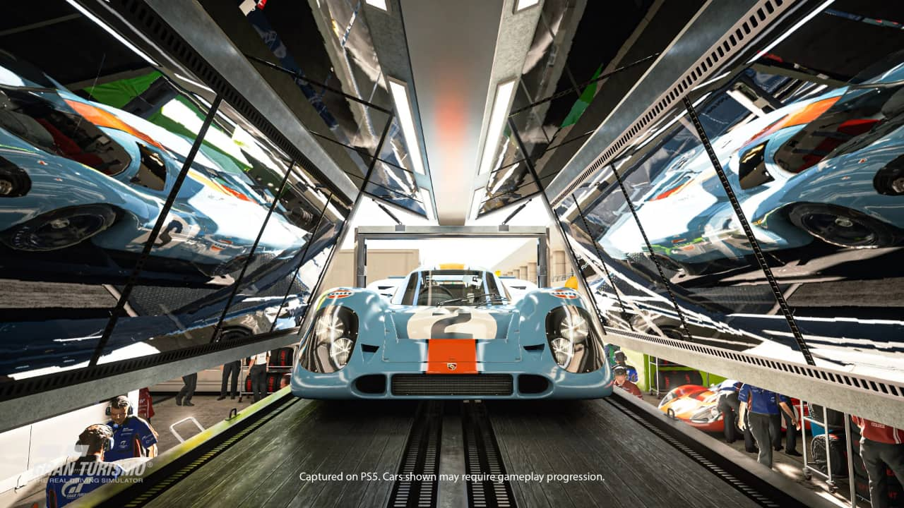 Gran Turismo 7 on the horizon