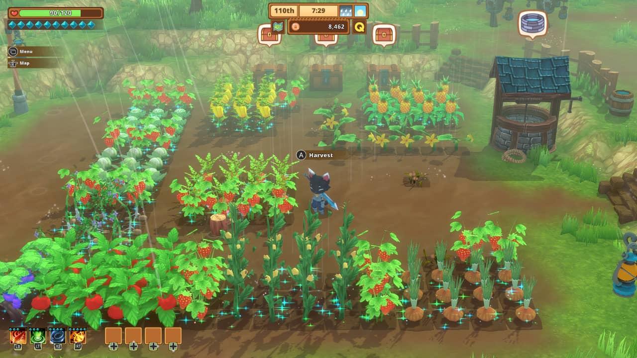 Kitaria Fables - Farming session